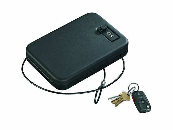 Stack-On PC-95C Portable Security Case with Combination Lock, Black