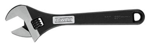 Dewalt DWHT70291 Black Oxide Adjustable Wrench, 10""
