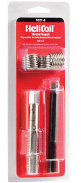 "Heli-Coil 5521-8 USS Thread Repair Kit, 1/2"" x 13"