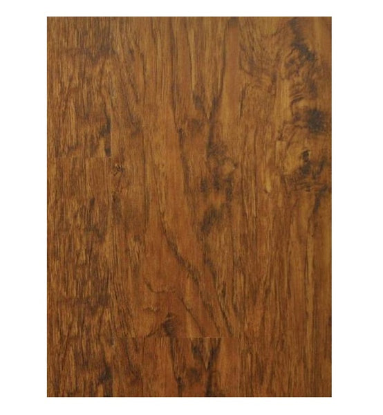 Courey International 21231335 Unifloor Aqua Laminated Flooring, Rustic Walnut