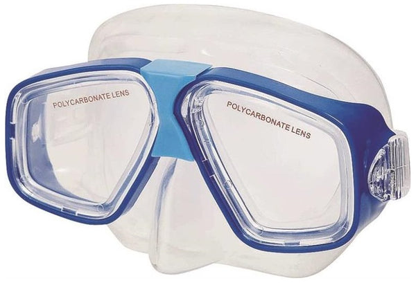 Intex 55974E Polycarbonate Lens Swim Mask, Thermoplastic Rubber
