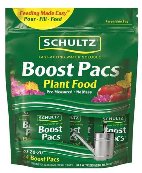 Schultz SPF48900 24 Count Water Soluble Boost Pack, 24 Count