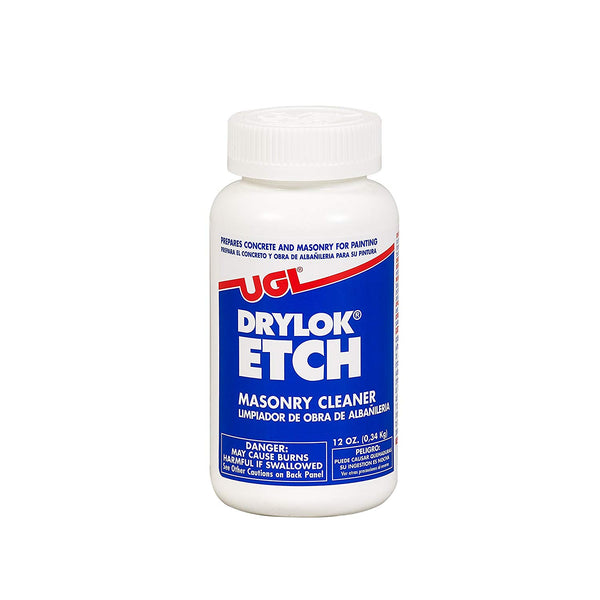 Drylock 01908 Etch Masonary Cleaner, 12 Oz