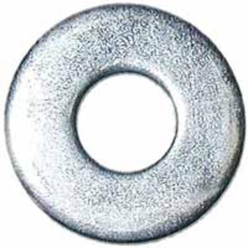 Midwest 04690 Zinc Plated Flat Washer, 1/4""