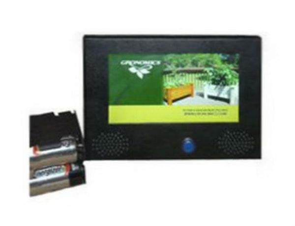 Pop Tv DTV-70WSBP Battery Operated Video Display, 7""