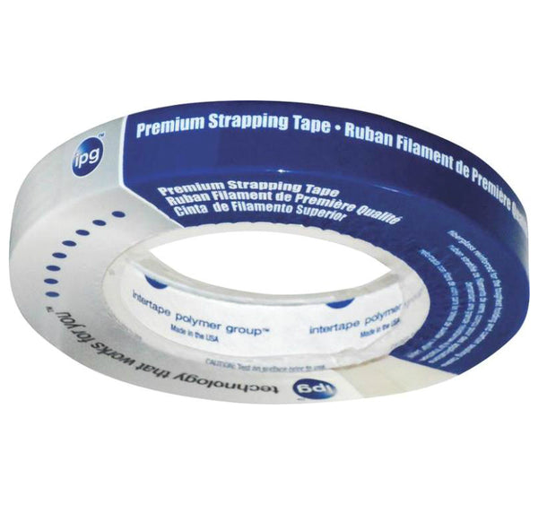 "Intertape 9715 Strapping Tape, 3/4""X60Yards"
