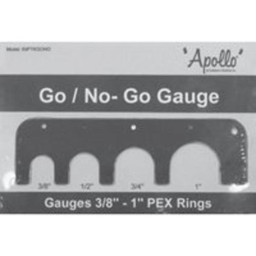 Apollo Valves 69PTKGONO Pex Go/No Sizing Gauge
