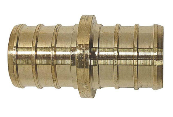 Apollo Valves APXC11 PEX Coupling Brass Crimp Fittings, 1""
