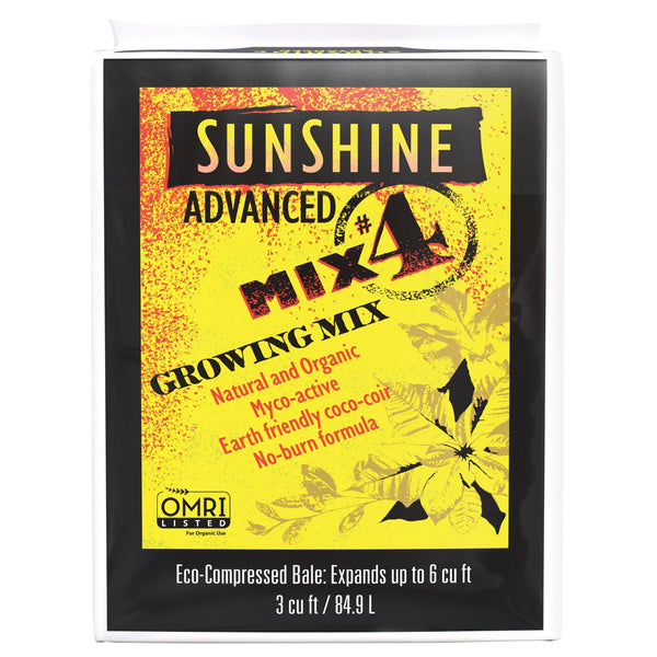Sunshine 504500.CFL003P Advanced Mix #4 Growing Mix, 3 Cu Ft