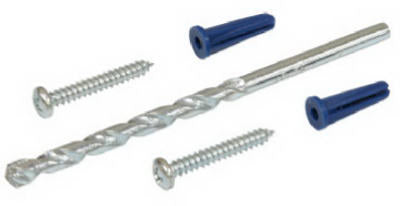 Hillman Fasteners 373500 Conical Blue Plastic Anchor Kit, 201-Piece