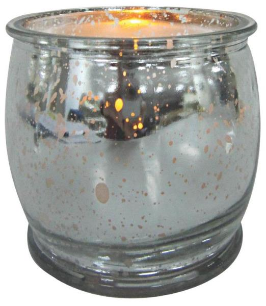 Holiday Basix E03410 Silver Plating LED Candle