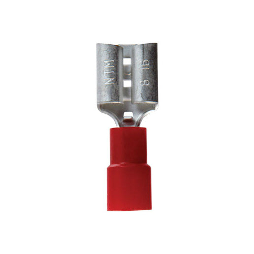 Jandorf 60947 Vinyl Insulated Female Terminal Disconnect, 22-18 AWG