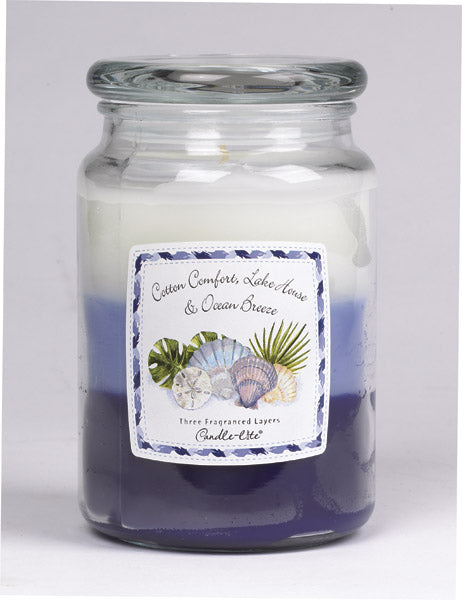 Candle Lite 1962135 Candle Jar, Ocean breeze scent