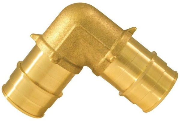 Apollo EPXE11 Pex Pipe Elbow, Brass, 1""