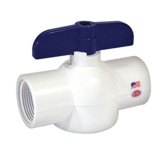 KBI EBV-1250-T Threaded Ball Valve, Schedule 40
