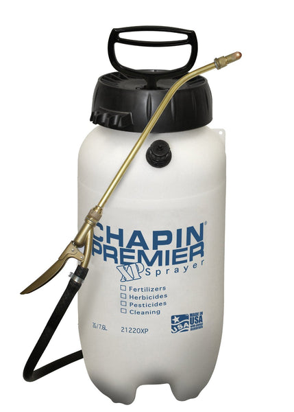 Chapin 21220XP Premier Pro+ Poly Sprayer, 2 Gallon