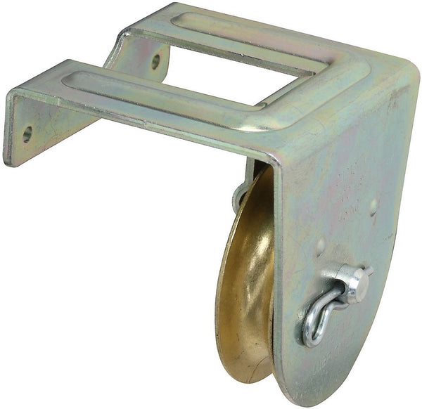 National Hardware N233-262 3221BC Single Pulley, Zinc Plated