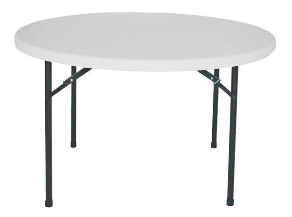 "Homebasix BT048X001A Folding Table 48"" Diameter, Round"