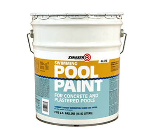Zinsser 260542 Swimming Pool Paint, 5 Gallon