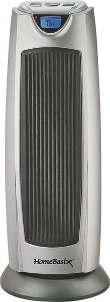 PowerZone KPT-2000BN Digital Oscillating Ceramic Heater, 750/1500 Watts