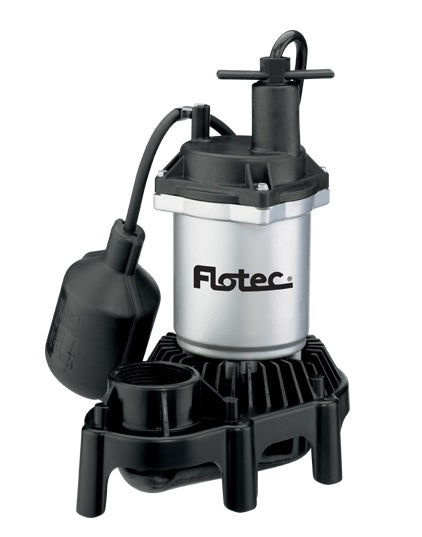 Flotec FPZS33T Submersible Thermoplastic Sump Pump, 1/3 HP