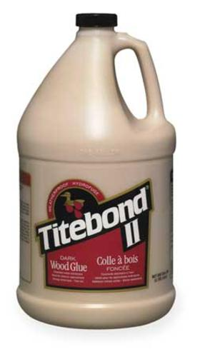 Titebond 3706 Dark Wood Glue, 1 Gallon, Brown