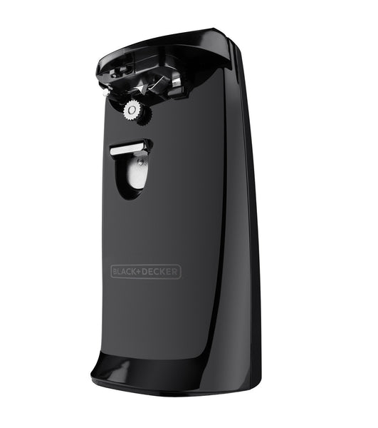 Black & Decker EC475B-2 Extra-Tall Electric Can Opener/Knife Sharp, Black