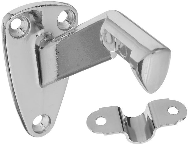 National Hardware N274-241 Handrail Bracket, Chrome, 250 Lb