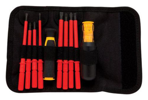 "Dewalt DWHT66417 Insulated Screwdriver Set 1/8"", 10 Piece"