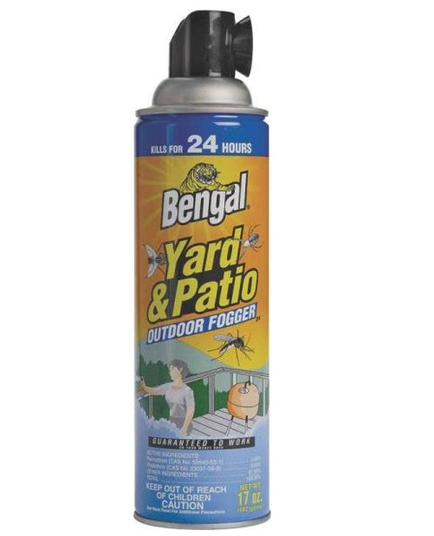 Bengal 93290 Yard & Patio Outdoor Fogger, 17 Oz