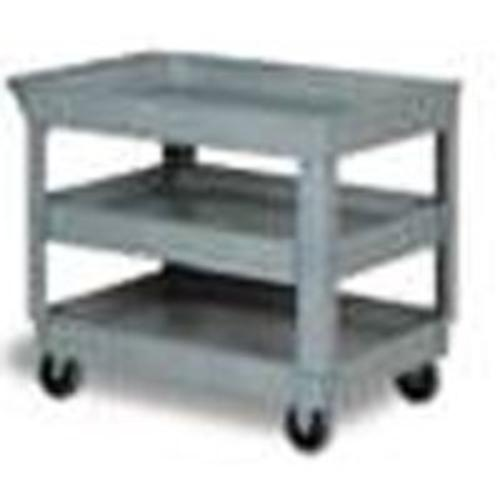 Continental Commercial N5800GY Small Utility Cart, Gray