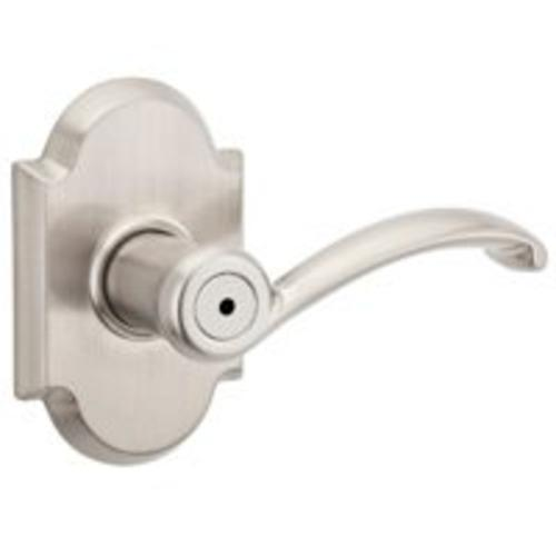 Kwikset 97300-807 Signature Series Austin Privacy Lever, Satin Nickel