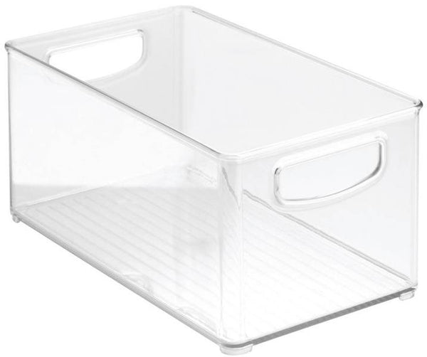 "InterDesign 64530 Clear Kitchen Bin, 10"" x 6"" x 5"""