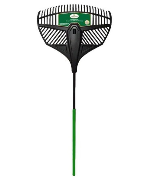 Landscapers Select 34867 Lawn & Leaf Rake, Steel, Poly Head