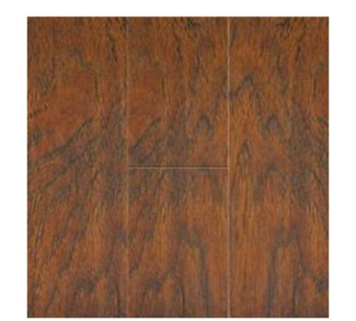 Courey 21231248 Laminate Flooring, Hickory Spice, 12.3 mm, 17.36 sq. ft