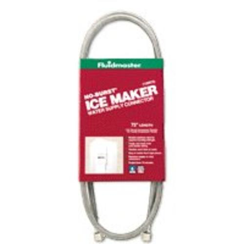 Fluidmaster 12IM72 No Burst Ice Maker Connector, 72""
