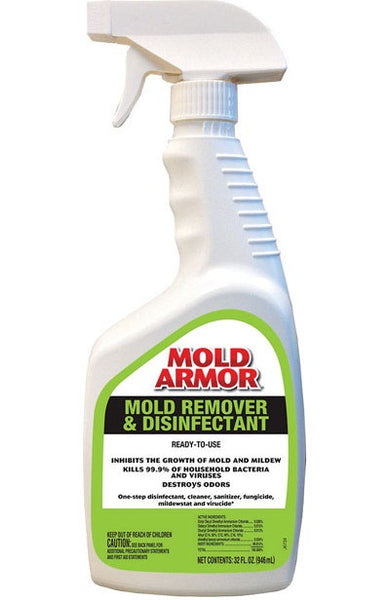 Mold Armor FG552 Mold Remover & Disinfectant Trigger Sprayer, 32 Oz