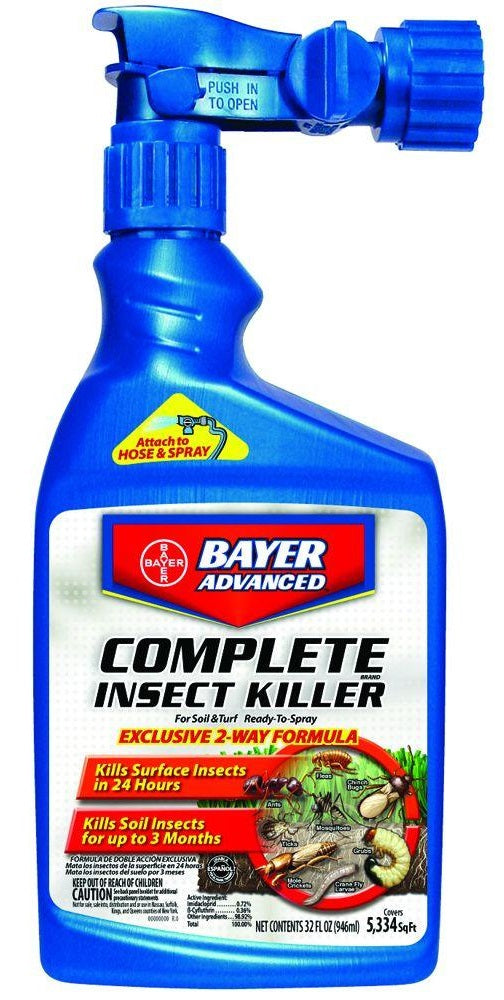 Bayer Advanced 700280Q Complete Insect Killer, 32 Oz
