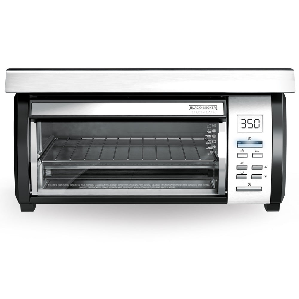 Black & Decker TROS1000D SpaceMaker Under-the-Cabinet 4 Slice Toaster Oven