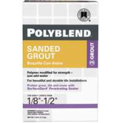 Custom Building Products PBG3337-4 Alabaster Grout Sanded 7Lb