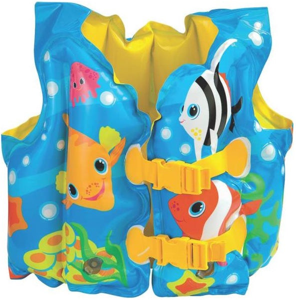 Intex 59661EP Fun Fish Swim Vest, 55 Lbs