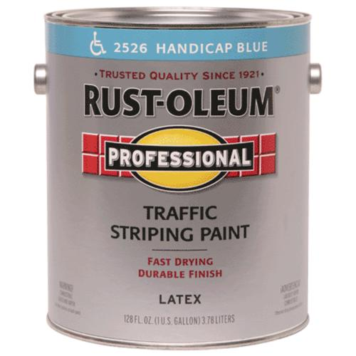 Rust-Oleum Professional Traffic Striping Paint, 1 Gal, Handicap Blue