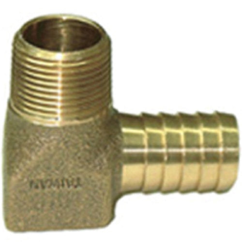 "Simmons 872 Hydrant 90° Elbow, 3/4"" MPT x 3/4"" Insert"