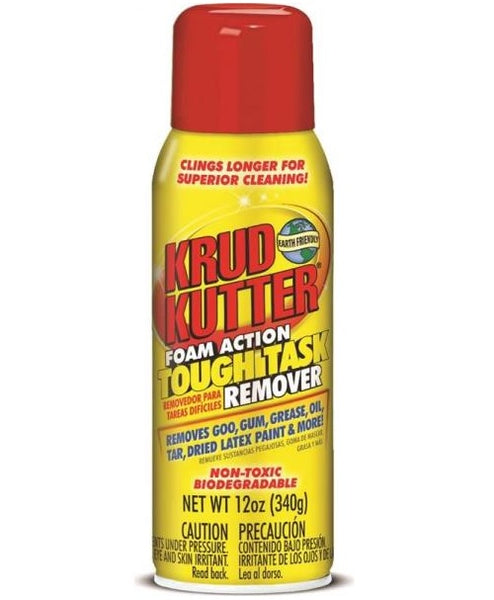 Krud Kutter KR124 Biodegradable Heavy Duty Tough Task Remover, 12 Oz