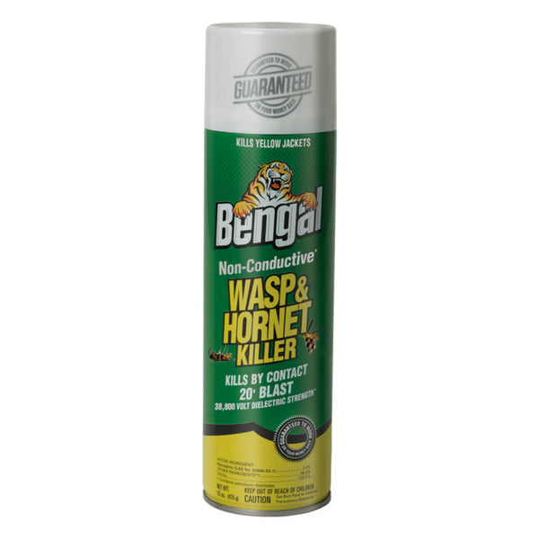 Bengal 97185 Non-Conductive Wasp And Hornet Killer, 15 oz