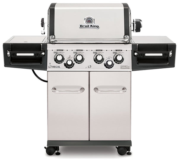 Broil King 956347 Regal S490 Pro 4 Burner Natural Gas Grill, 50000 BTU