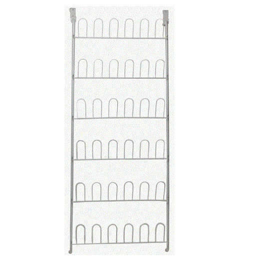Closetmaid 8040 Over The Door Shoe Rack, 18-Pair