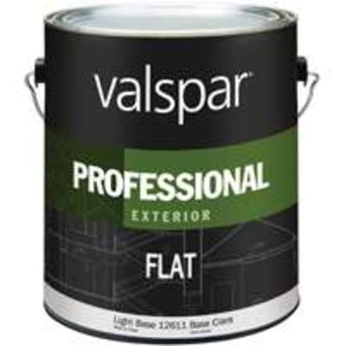 Valspar 045.0012611.007  Professional Exterior Latex Paint, Flat Light