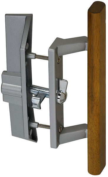 Stanley N349-209 V1363 Patio Door Locking Handle/Latch Set, Aluminum