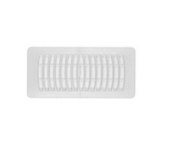 "Imperial RG1289 Plastic Register, White, 3"" x 10"""